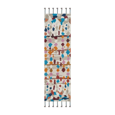 Safavieh Casablanca Collection Allycia Geometric Runner Rug