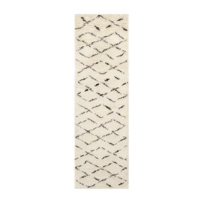 Safavieh Casablanca Collection Alayna Geometric Runner Rug