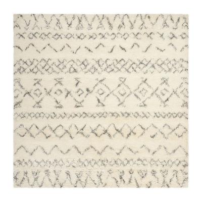 Safavieh Casablanca Collection Evren Geometric Square Area Rug
