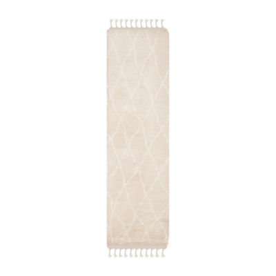 Safavieh Casablanca Collection Driskoll Geometric Runner Rug