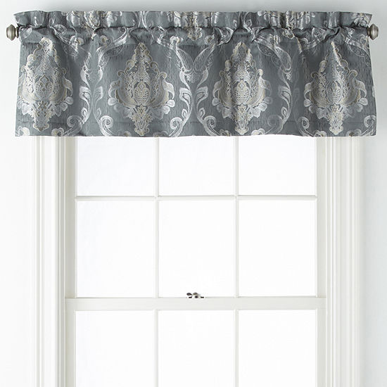 JCPenney Home Kagan Rod-Pocket Tailored Valance