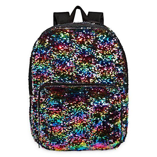 Confetti Rainbow Flip Sequin Backpack