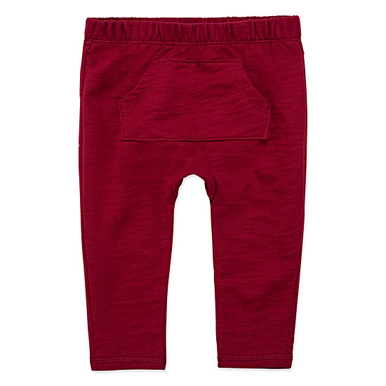 Okie Dokie Boys Tapered Pull-On Pants - Baby