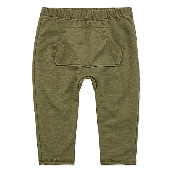 Okie Dokie Baby Boys Tapered Pull-On Pants
