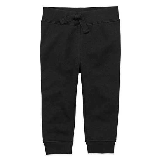 Okie Dokie Boys Fleece Cuffed Jogger Pant - Baby