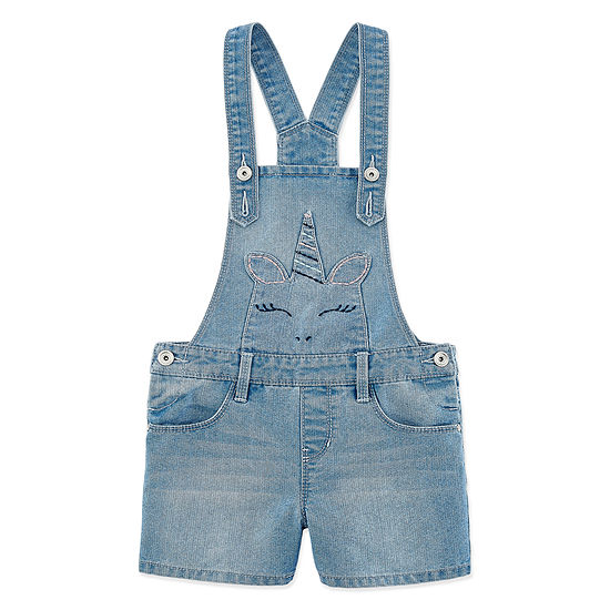 Blue Spice Shortalls - Girls 7-12