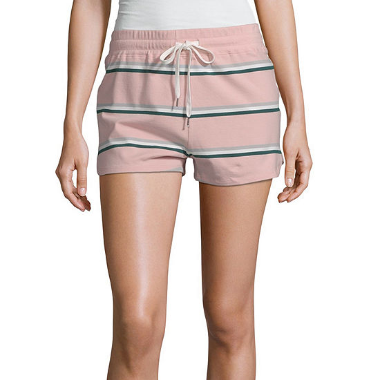 Inspired Hearts Womens Mid Rise Midi Short-Juniors