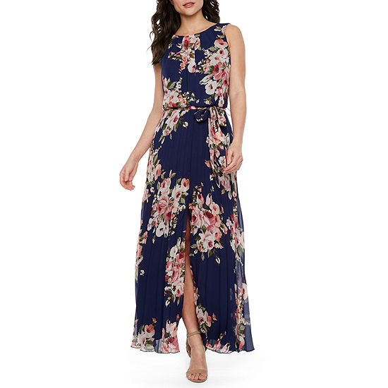 643839a4e1 Premier Amour Sleeveless Floral Maxi Dress - JCPenney