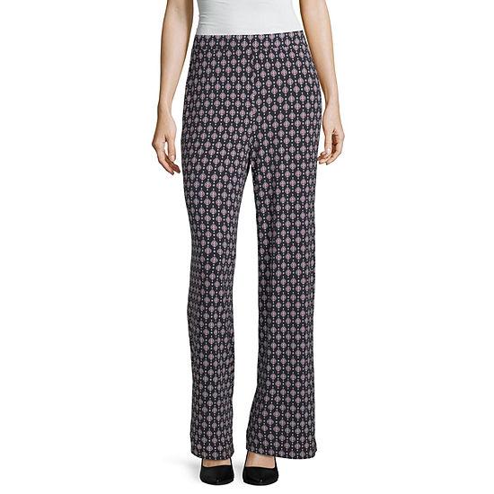 Liz Claiborne Wide Leg Packable Pant - Tall
