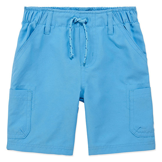 Okie Dokie Splash Short Toddler Boys Mid Rise Cargo Short