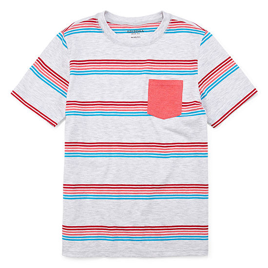 Arizona Boys Crew Neck Short Sleeve T-Shirt Preschool / Big Kid