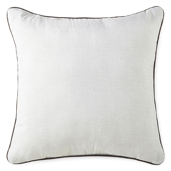 Home Expressions Fred Square Throw Pillow