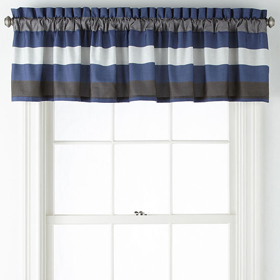 Home Expressions Fred Back-Tab Tailored Valance