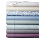 Home Expressions Easy Care Percale Solid and Print Wrinkle Resistant Sheet Sets and Pillowcases