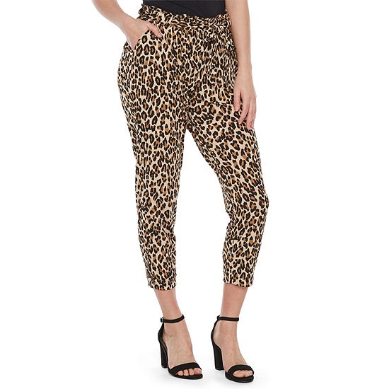 Bold Elements Womens Mid Rise Curvy Fit Ankle Pant