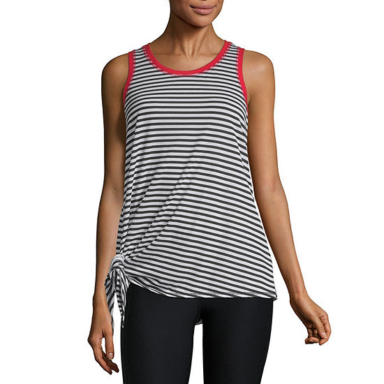 Xersion Assymetrical Tie Graphic Tank