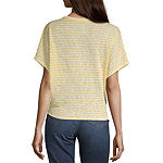 a.n.a Womens Button-Up Dolman Sleeve Top