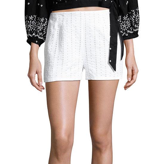 a.n.a Womens Side Zipper Short