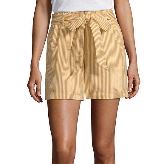 Liz Claiborne Womens Pull-On Short