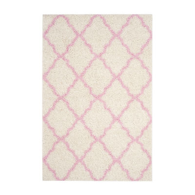 Safavieh Dallas Shag Collection Caris Geometric Area Rug