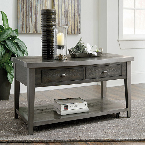 Signature Design by Ashley Branbury 2-Drawer Coffee Table