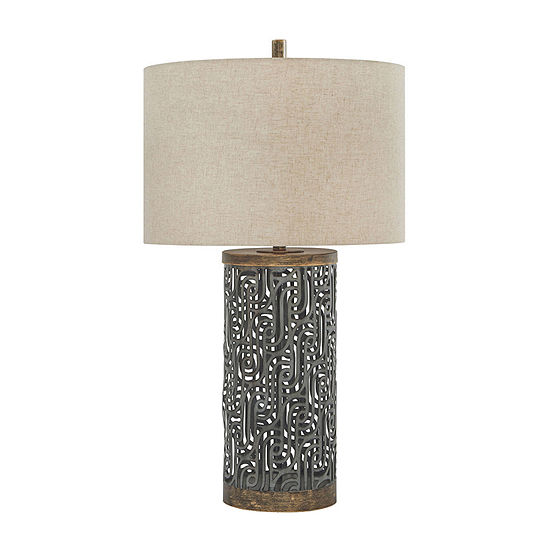 Signature Design by Ashley Dayo Metal Table Lamp