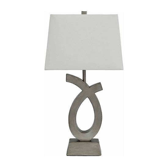 Signature Design by Ashley 2-pc. Resin Table Lamp