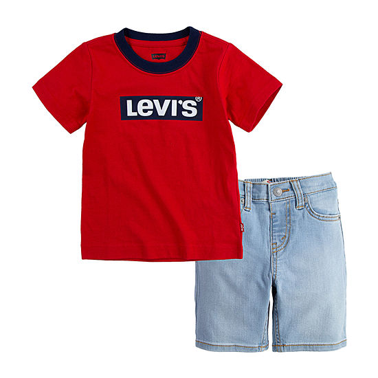 Levi's Baby Boys 2-pc. Short Set