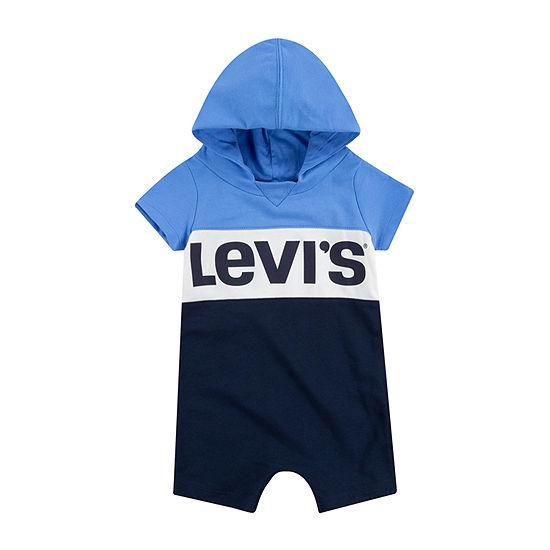 Levi's Baby Boys Short Sleeve Romper