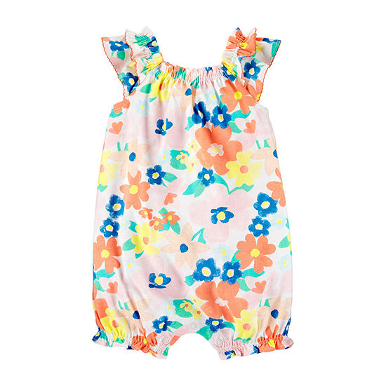 Carter's - Baby Girls Sleeveless Romper
