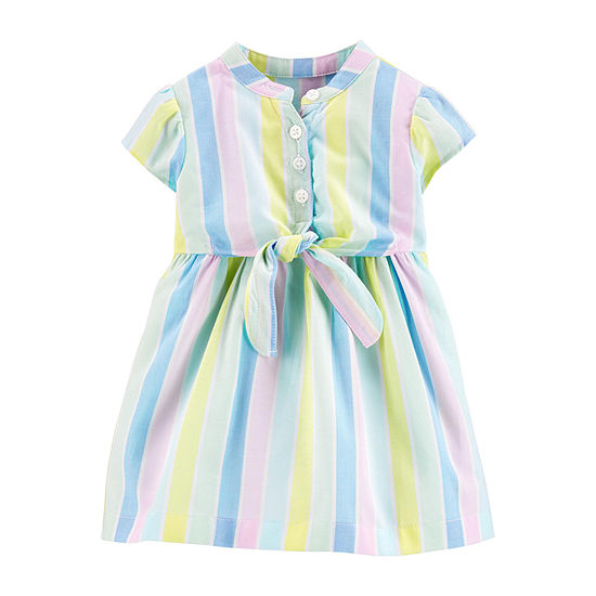 Carter's Baby Girls Short Sleeve Fit & Flare Dress