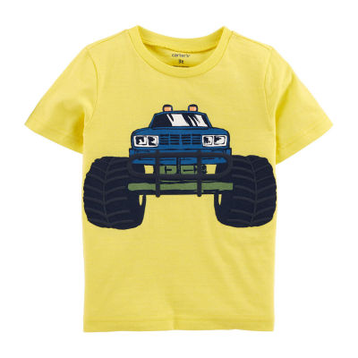 Carter's-Toddler Boys Crew Neck Short Sleeve Graphic T-Shirt