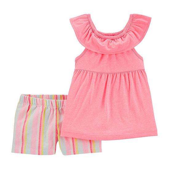 Carter's Toddler Girls 2-pc. Short Set