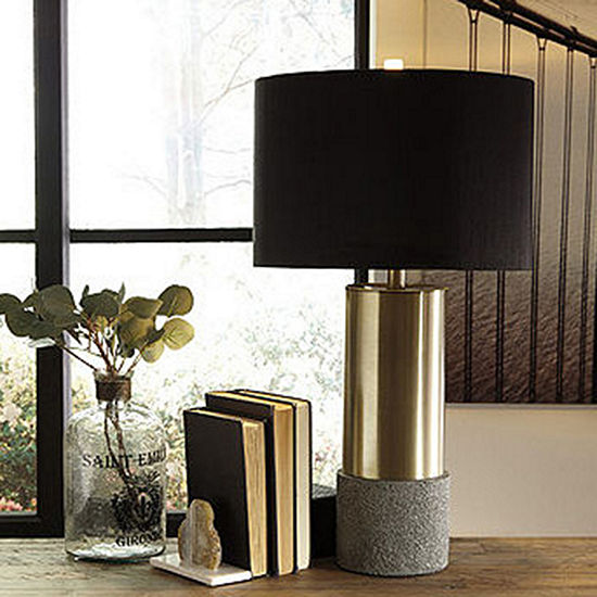 Signature Design by Ashley 2-pc. Metal Table Lamp