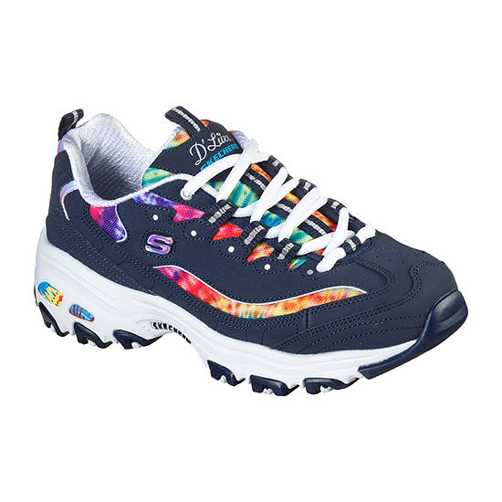 Skechers Sport D'Lite-Summer Fiesta Womens Sneakers