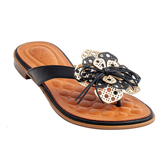 GC Shoes Womens Vida Flat Sandals