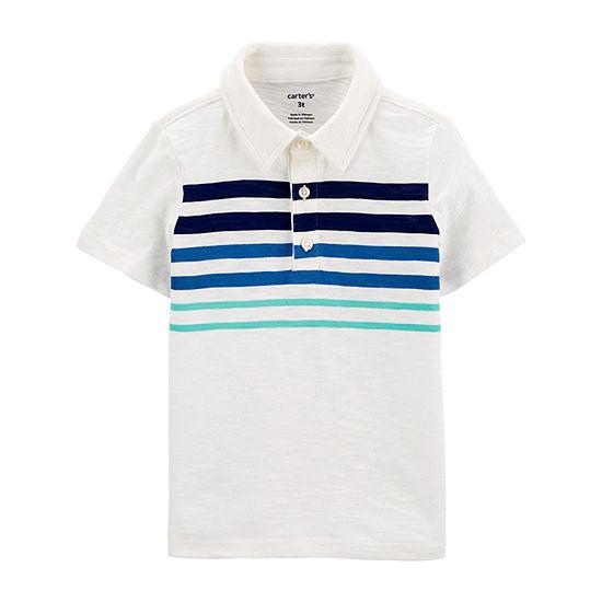 Carter's Toddler Boys Short Sleeve Polo Shirt