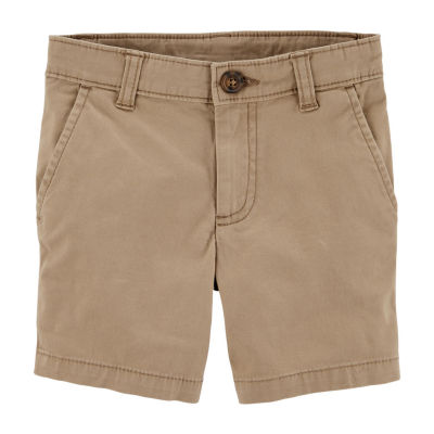 Carter's Boys Mid Rise Adjustable Waist Chino Short