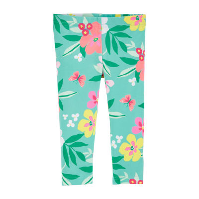 Carter's - Toddler Girls Mid Rise Legging