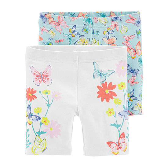 Carter's Toddler Girls 2-pc. Mid Rise Pull-On Short