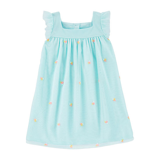Carter's - Toddler Girls Sleeveless Shift Dress