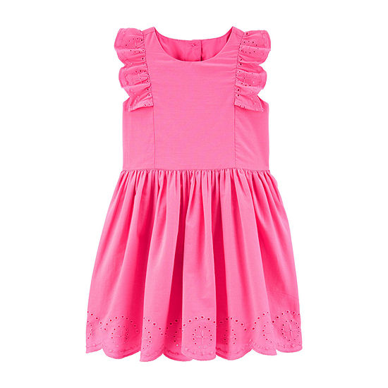 Carter's Toddler Girls Short Sleeve A-Line Dress