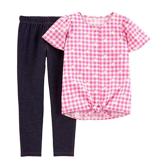 Carter's Little Kid / Big Kid Girls 2-pc. Legging Set