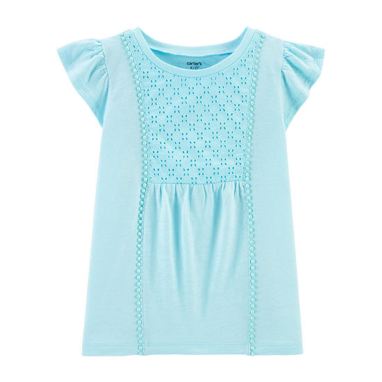 Carter's Girls Short Sleeve T-Shirt - Little/ Big Kid