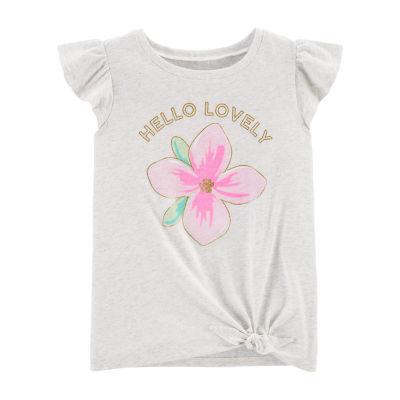 Carter's Girls Short Sleeve T-Shirt - Little/ Big Kid