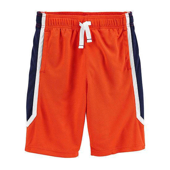 Carter's Little & Big Boys Mid Rise Basketball Short