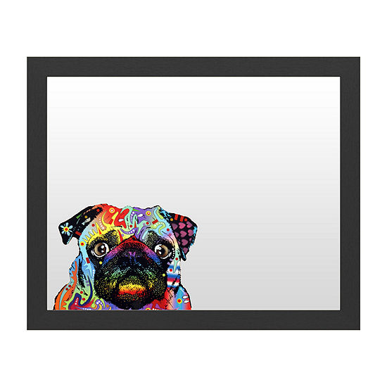 Trademark Fine Art Pug Message Board