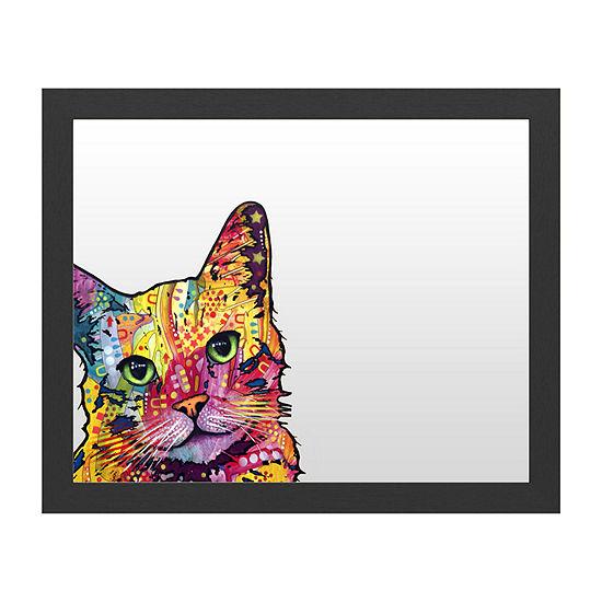 Trademark Fine Art Tilt Cat Message Board
