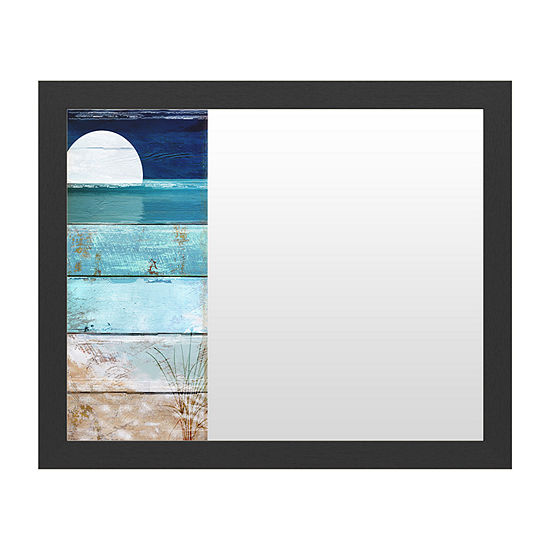 Trademark Fine Art Beach Moonrise I Message Board
