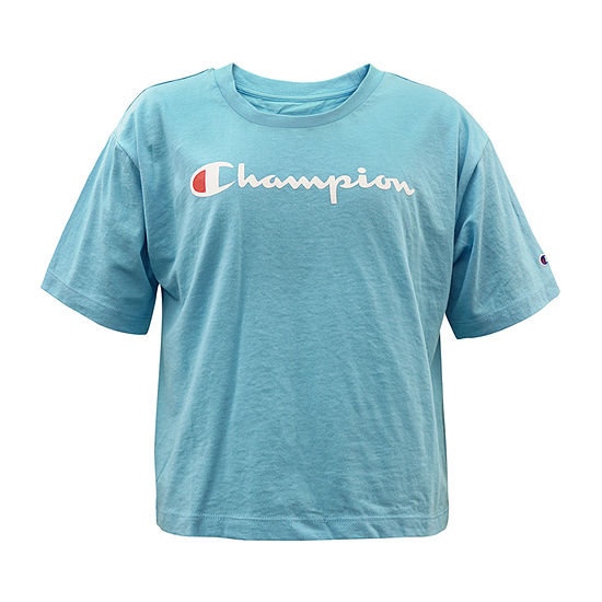 Champion Big Girls Short Sleeve T-Shirt